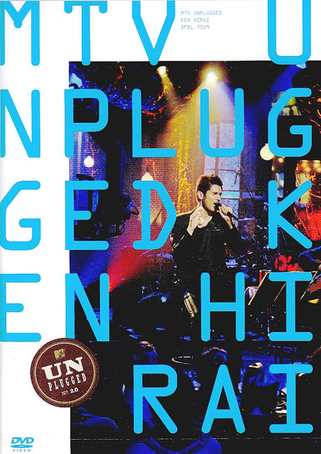 2003  Ken Hirai Films Vol.6 MTV UNPLUGGED KEN HIRAI